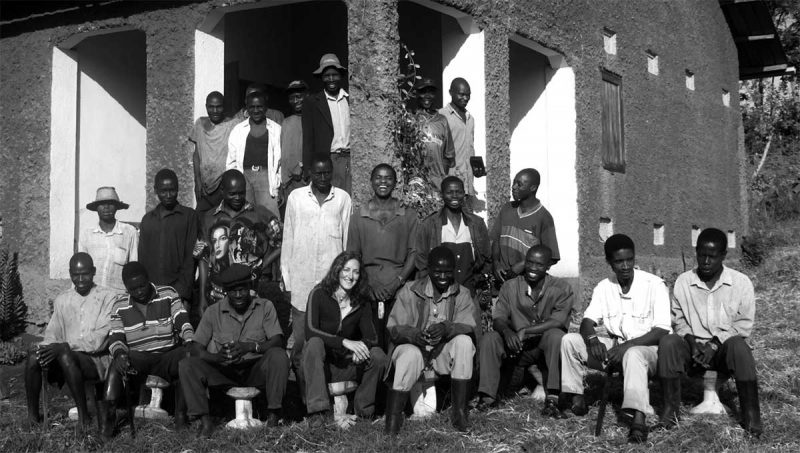 Starting out: Ndali Estate core team in 1999