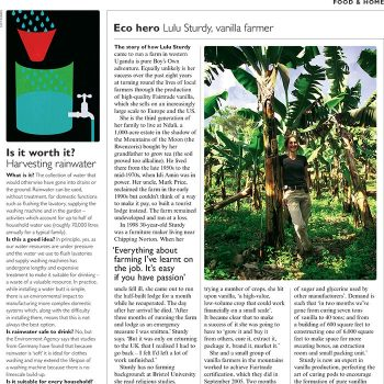 Eco Hero - Telegraph Magazine